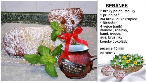Recept na velikonočního beránka