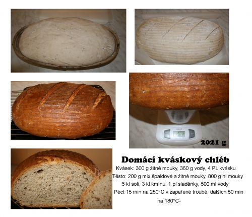 chléb kváskový