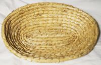 Ošatka na kynutí těsta sláma ( chleba )oválná na 1kg těsta
