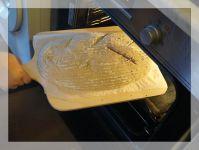Slaměná ošatka na chléb oválná 30 cm