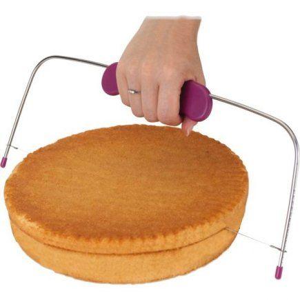 strunový kráječ na dorty